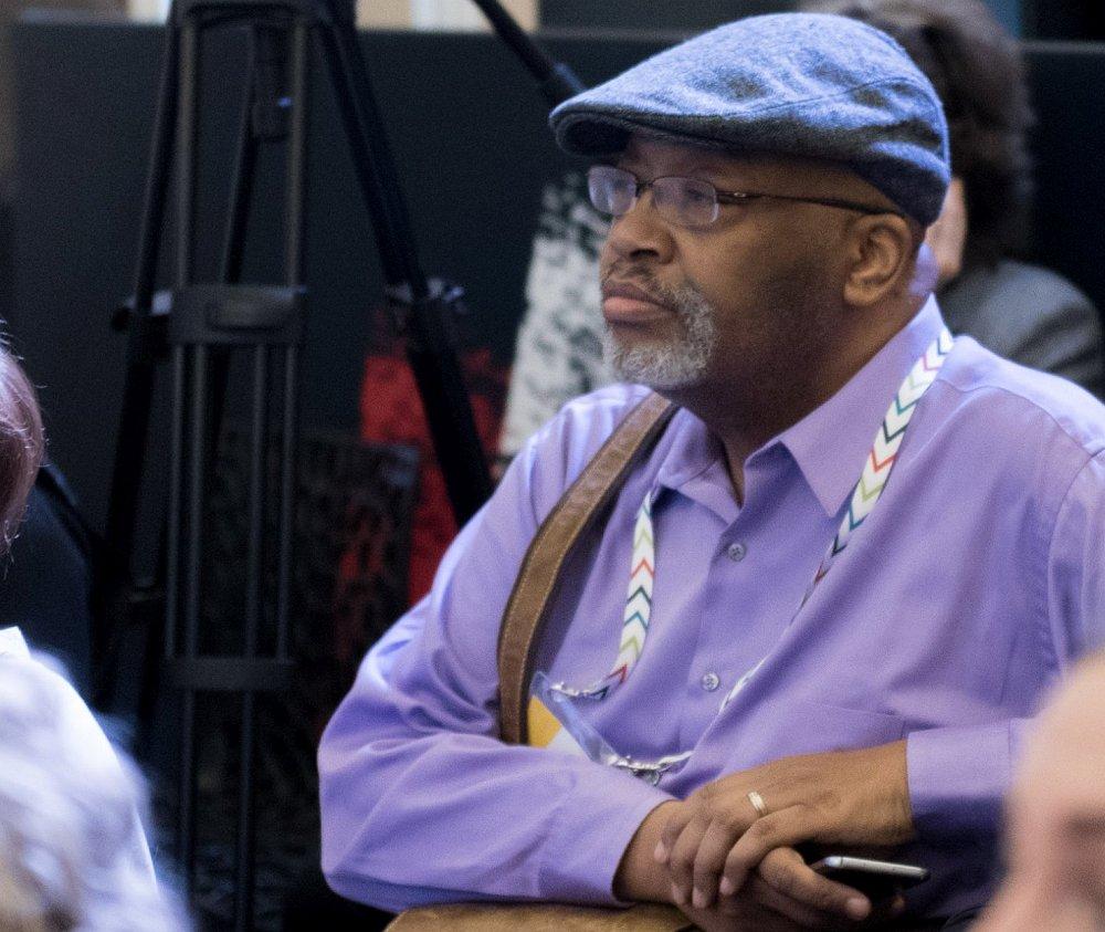 Дэвид Ричардсон на конференции Jazz Across Borders