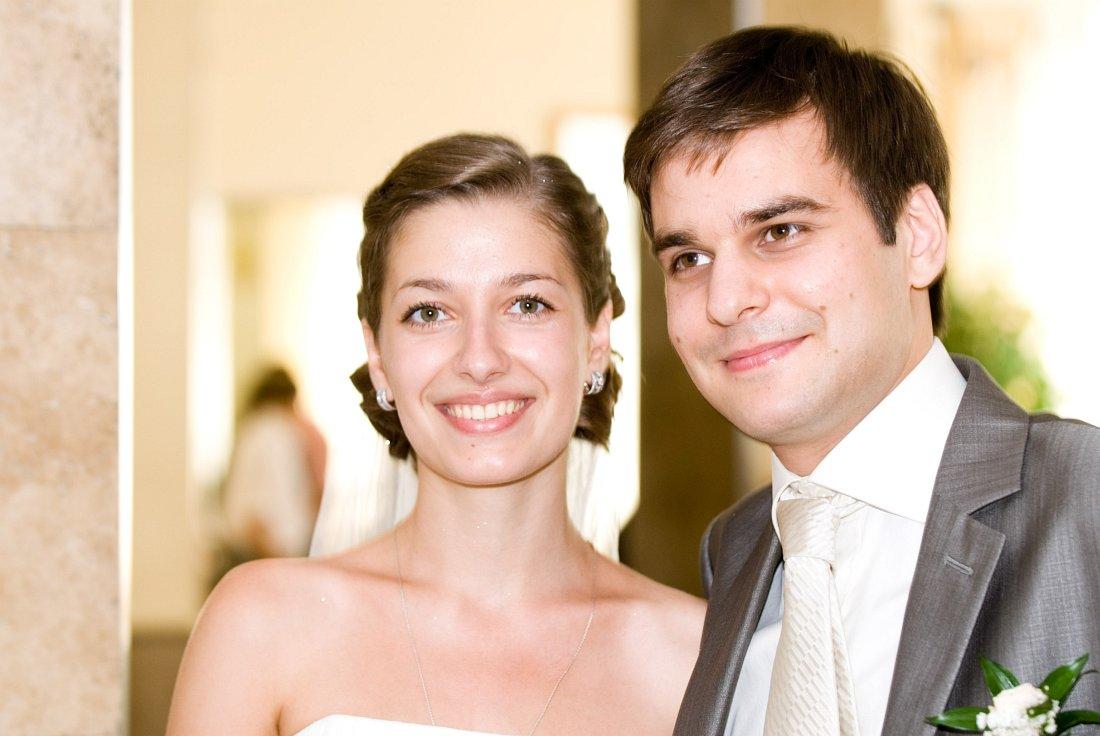 Юлиана Рогачёва и Алексей Чернаков, свадебное фото, 2010