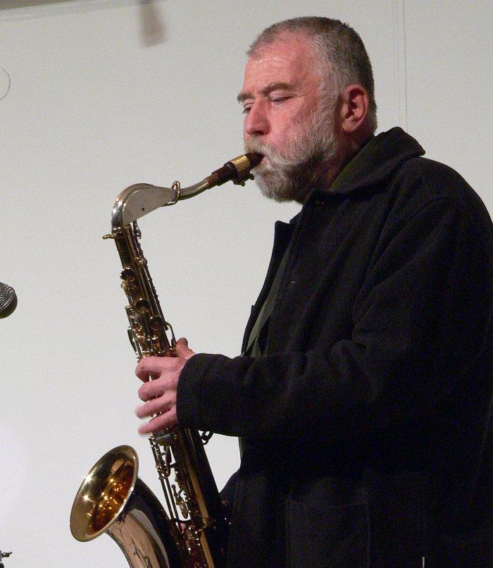 Петер Брётцманн (фото © Кирилл Мошков, «Джаз.Ру», 2006)