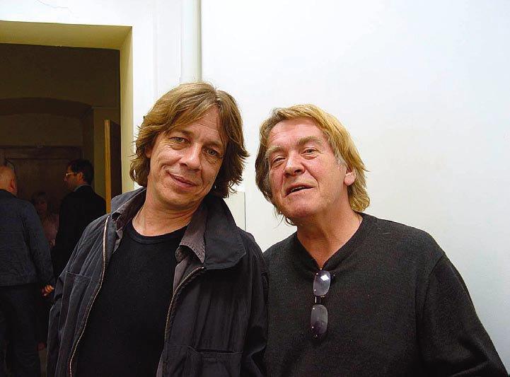Иван Смирнов и Анатолий Бабий, Самара, 2004 (фото: Юрий Льноградский)