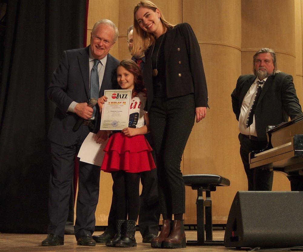 Председатель жюри Анатолий Кролл, Елизавета Трофимова и члены жюри Ольга Синяева и Валерий Гроховский