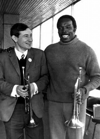 Трубач Андрей Товмасян и Тэд Джонс, Москва, 1972