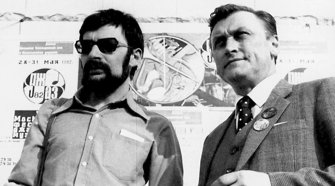 Михаил Митропольский и Юрий Козырев, 1982