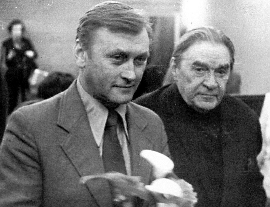 Юрий Козырев и Леонид Утёсов, 1980