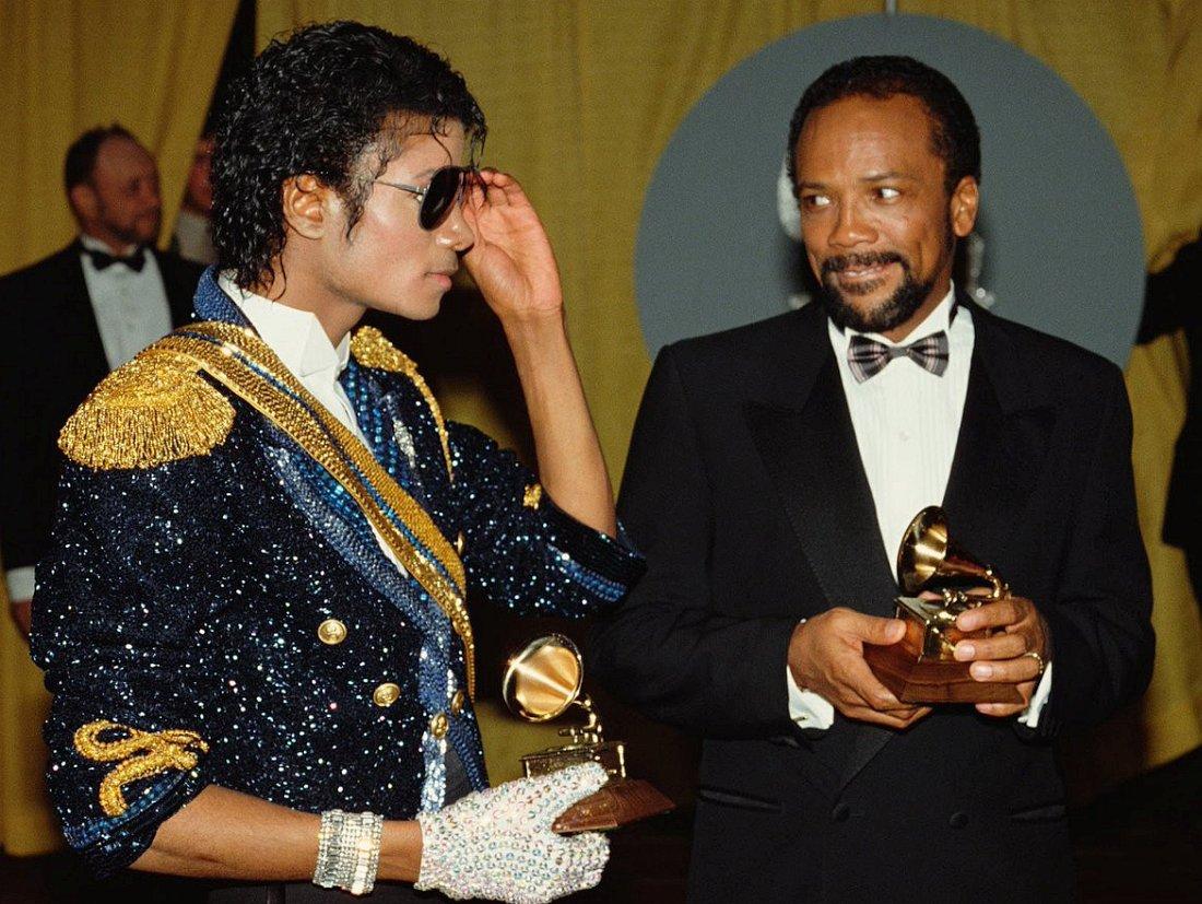 Майкл Джексон и Куинси Джонс, 1983
