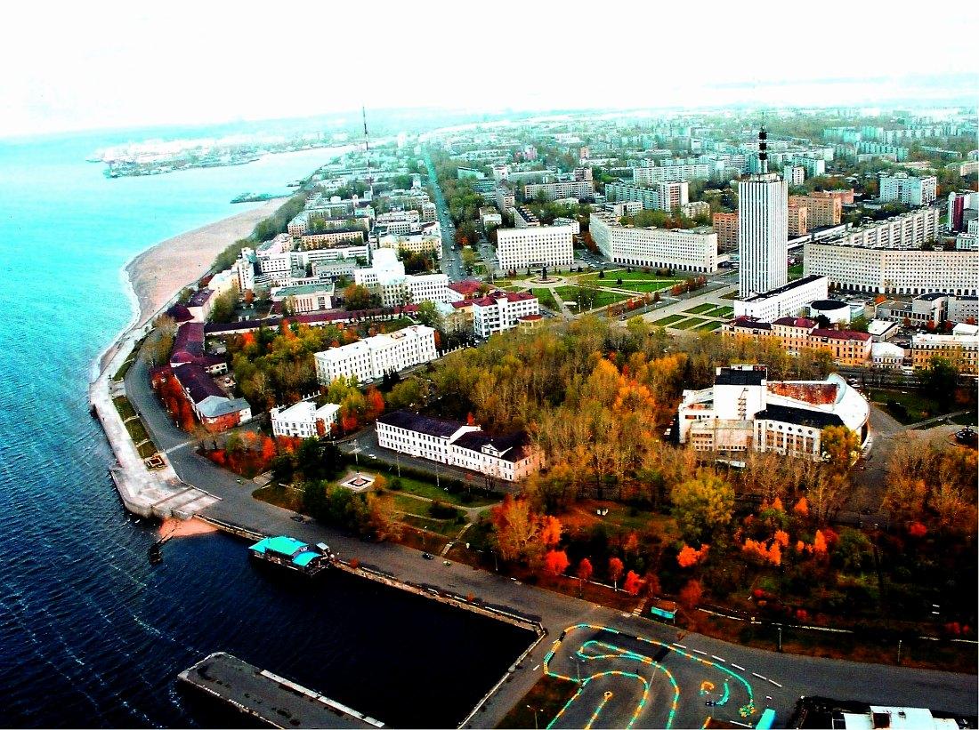 Центральная часть Архангельска
