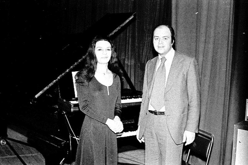 Татевик Оганесян и Игорь Бриль, Москва, 1978 (фото © Владимир Лучин)