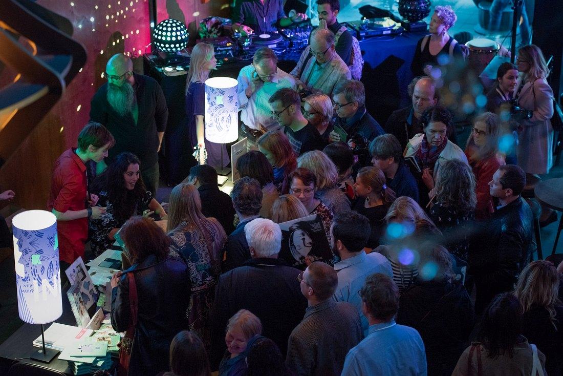 Jazzkaar: публика перед началом концерта