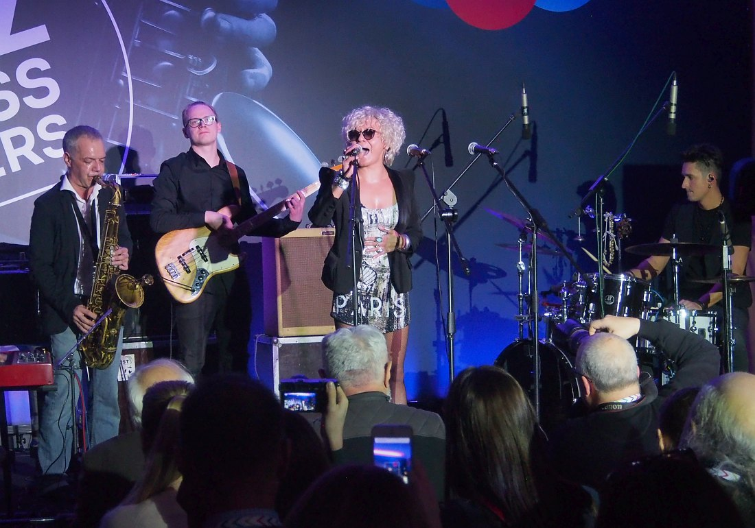 Lera Gehner — Alexey Popov Project в шоукейсе форума Jazz Across Borders, ноябрь 2017