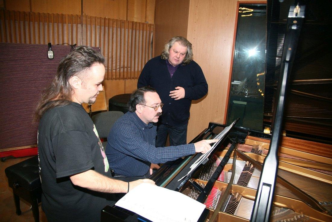 В студии с Даниилом Крамером и скрипачом Феликсом Лахути