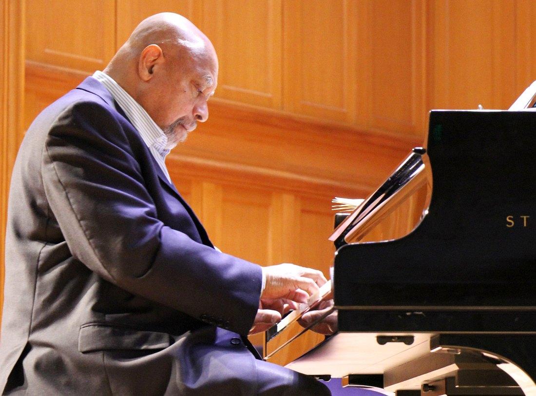Кенни Баррон в Московской консерватории, октябрь 2013