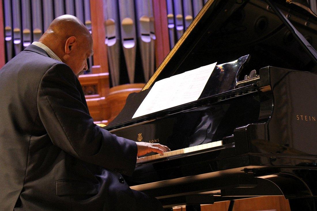 На концерте в Московской консерватории