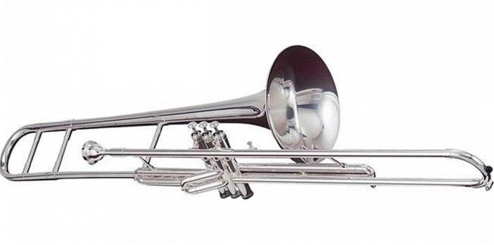 Вентильный, или помповый, тромбон (valve trombone)