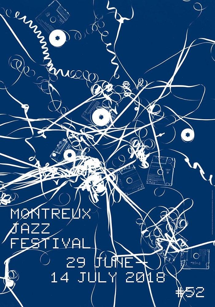 Официальный постер 52 фестиваля (авторы Christian Marclay / Laurent Benner)