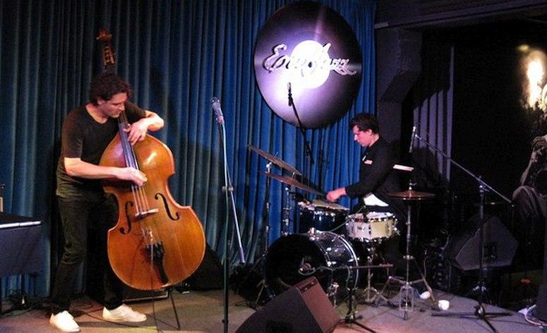 Антон Ревнюк Игнат Кравцов (LRK Trio). Фото: Елена Загородняя, Вечерний Екатеринбург
