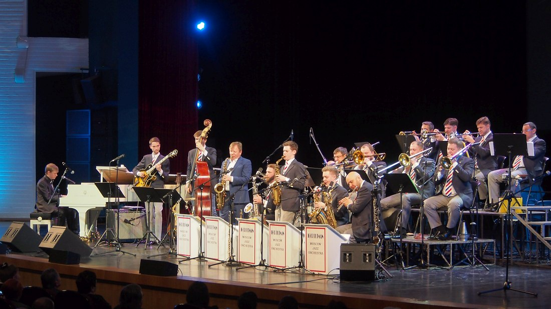 Московский джазовый оркестр п/у Игоря Бутмана (фото © Кирилл Мошков, «Джаз.Ру»)