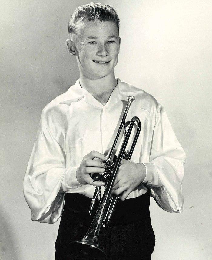 Серж Ермолл в 14-летнем возрасте (1957)