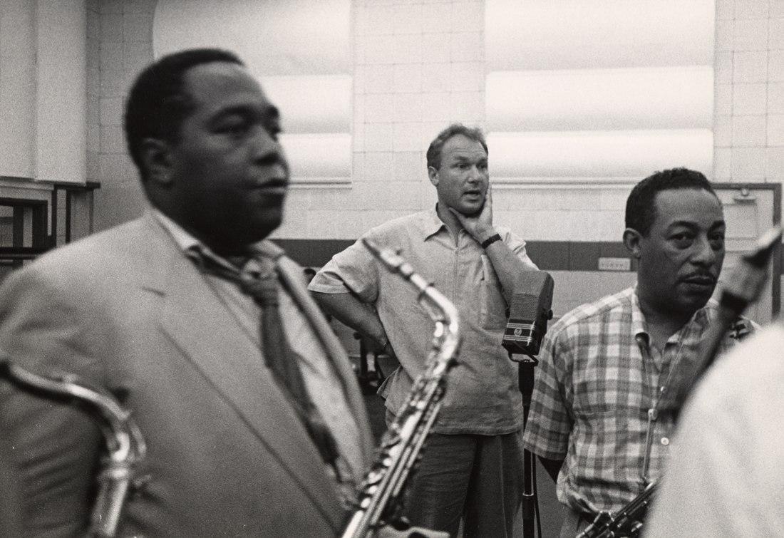 Чарли Паркер, Норман Гранц, контрабасист Рэй Браун. Лос-Анджелес, 1952