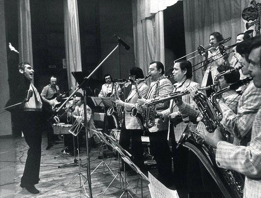 Оркестр Кима Назаретова. Воронеж, 1980