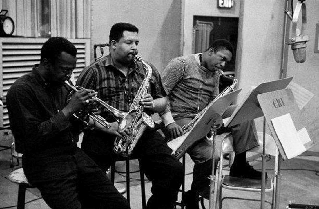 Miles Davis, Cannonball Adderley, John Coltrane