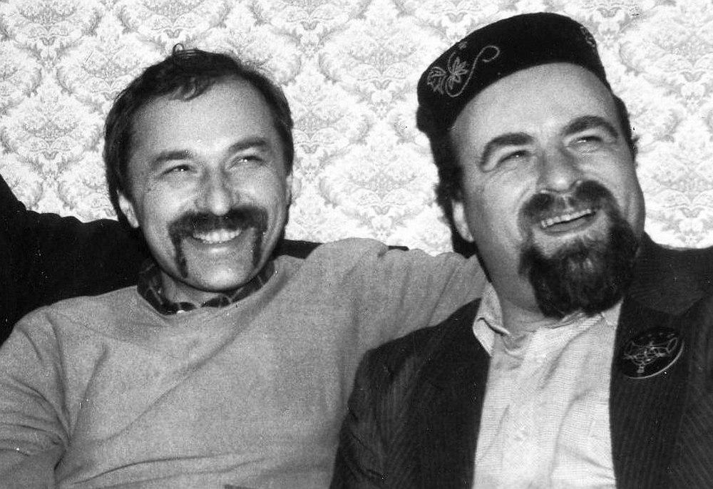 Игорь Зисер и Роман Копп, 1987
