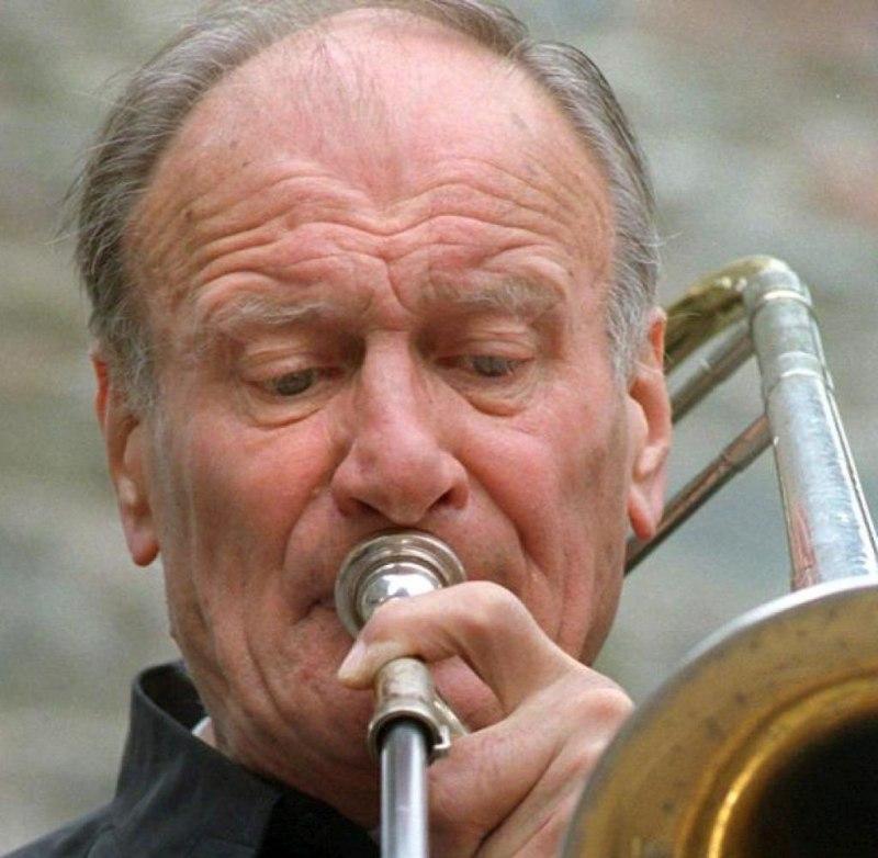Albert Mangelsdorff, 2003 (photo © Stephanie Pilick)