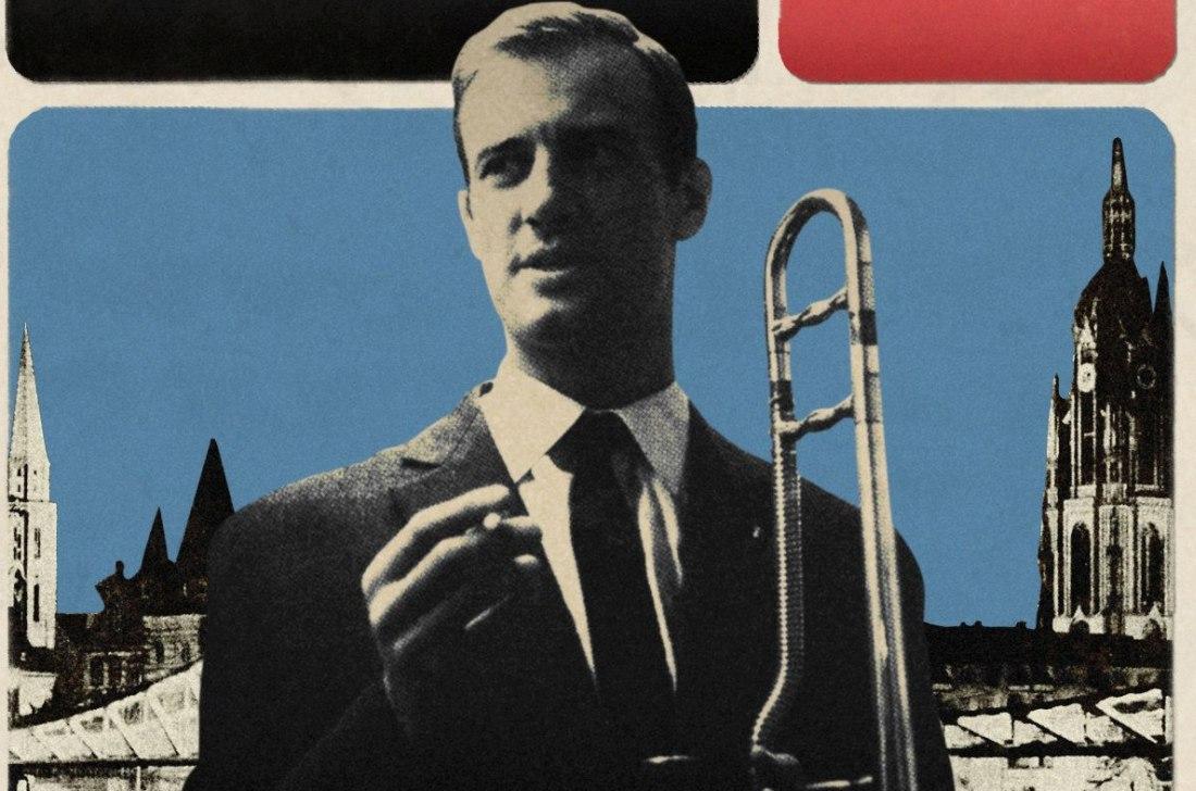 Альберт Мангельсдорфф в конце 1950-х (фото с обложки выпущенного в 2015 альбома ранних записей артиста «Mainhatten Modern»)