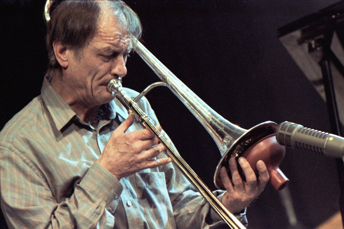 Albert Mangelsdorff, 1986 (photo © Urban Kirchberg)