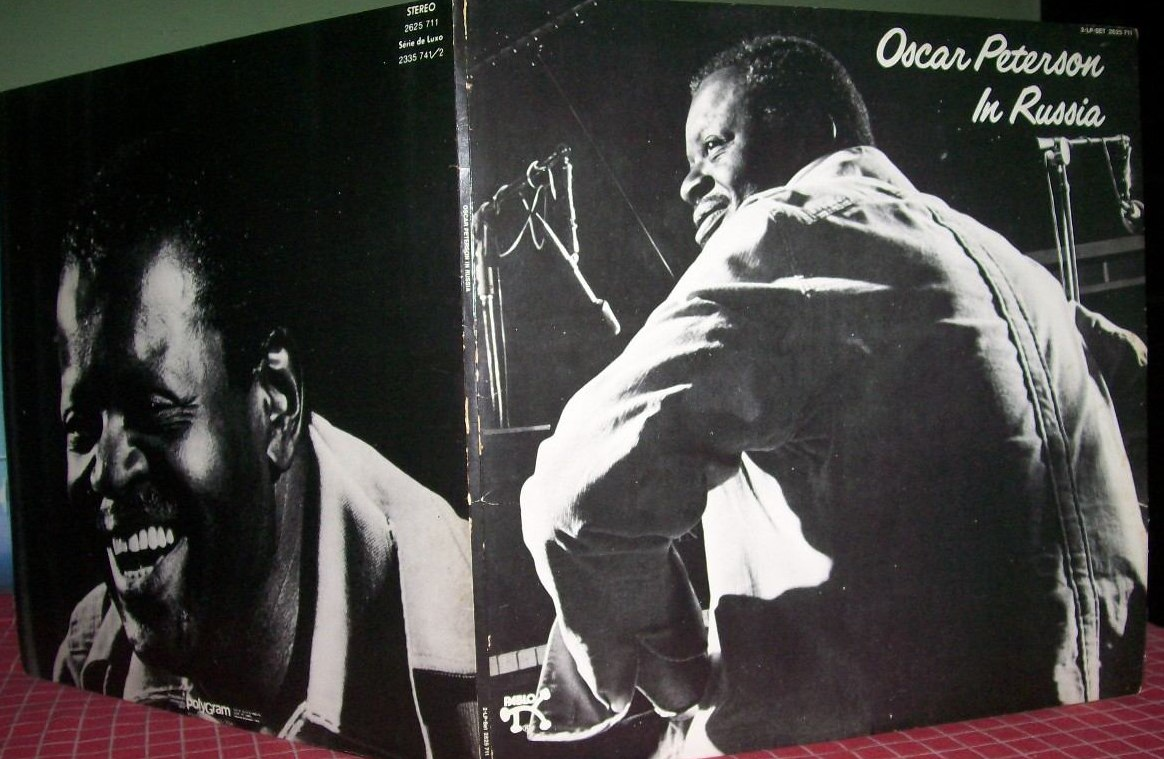 Двойной LP Оскара Питерсона «Oscar Peterson in Russia» (Pablo, 1974)