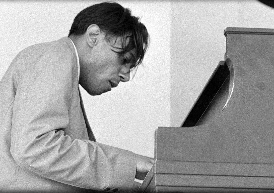 Хорас Силвер на джаз-фестивале в Ньюпорте, штат Род-Айленд, лето 1959