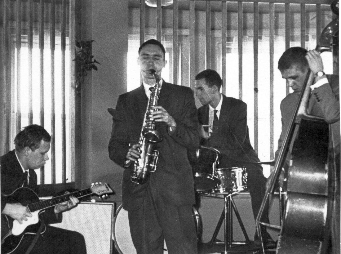 Таллин, 1964. Л-П Николай Громин, Алексей Козлов, Валерий Буланов, Андрей Егоров