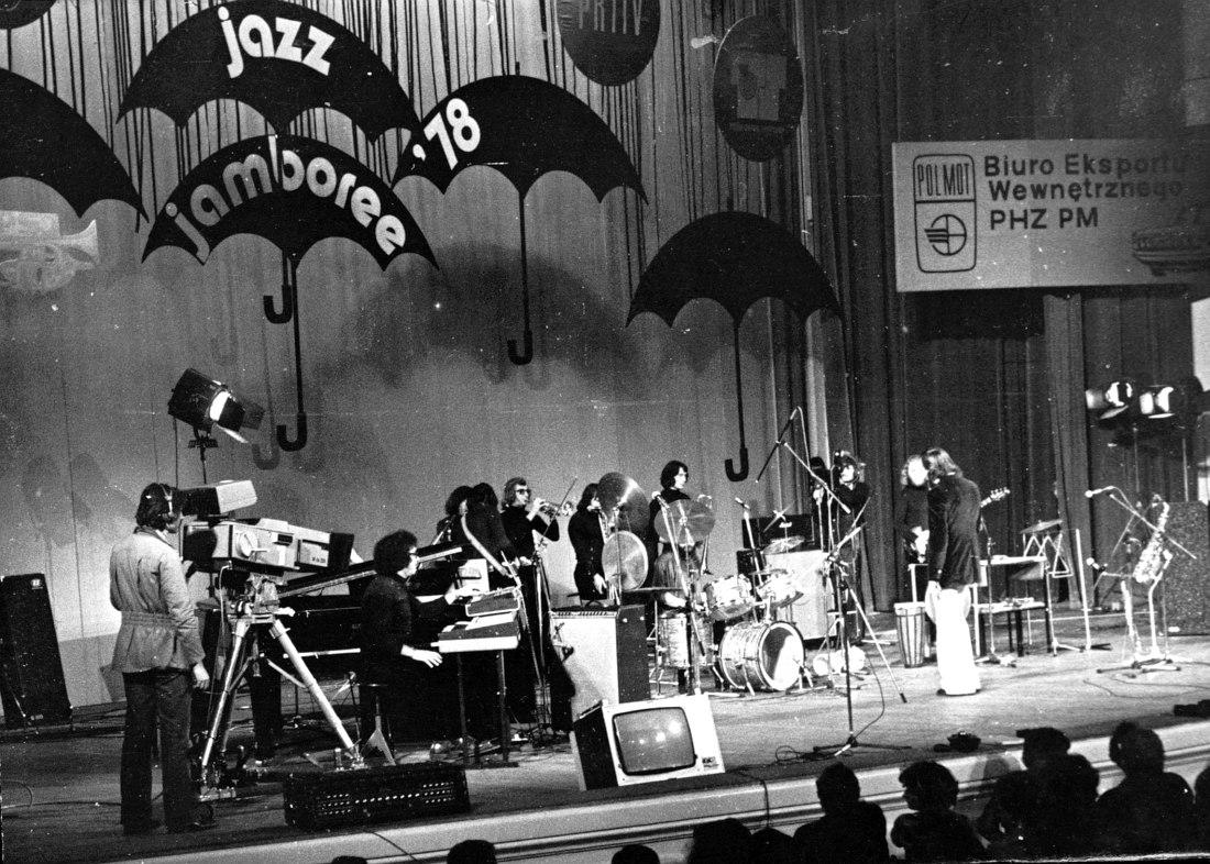 Джаз-рок-ансамбль «Арсенал» на фестивале Jazz Jamboree в Варшаве, 1978