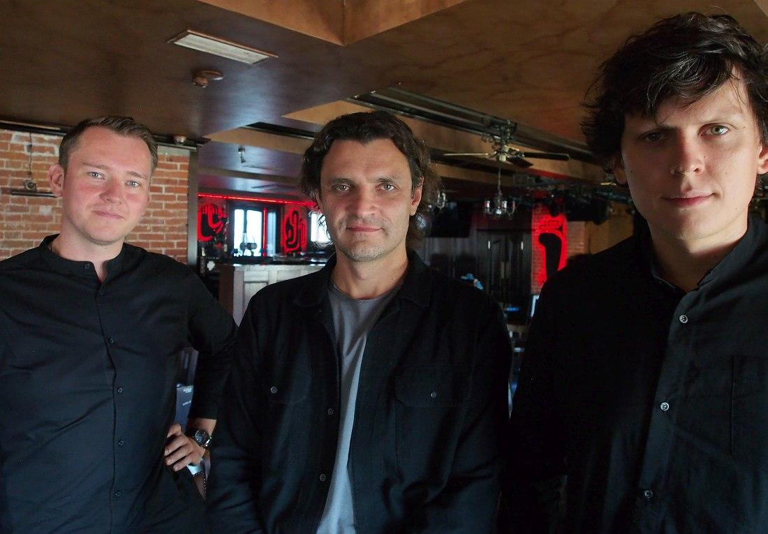 LRK Trio: Евгений Лебедев, Антон Ревнюк, Игнат Кравцов