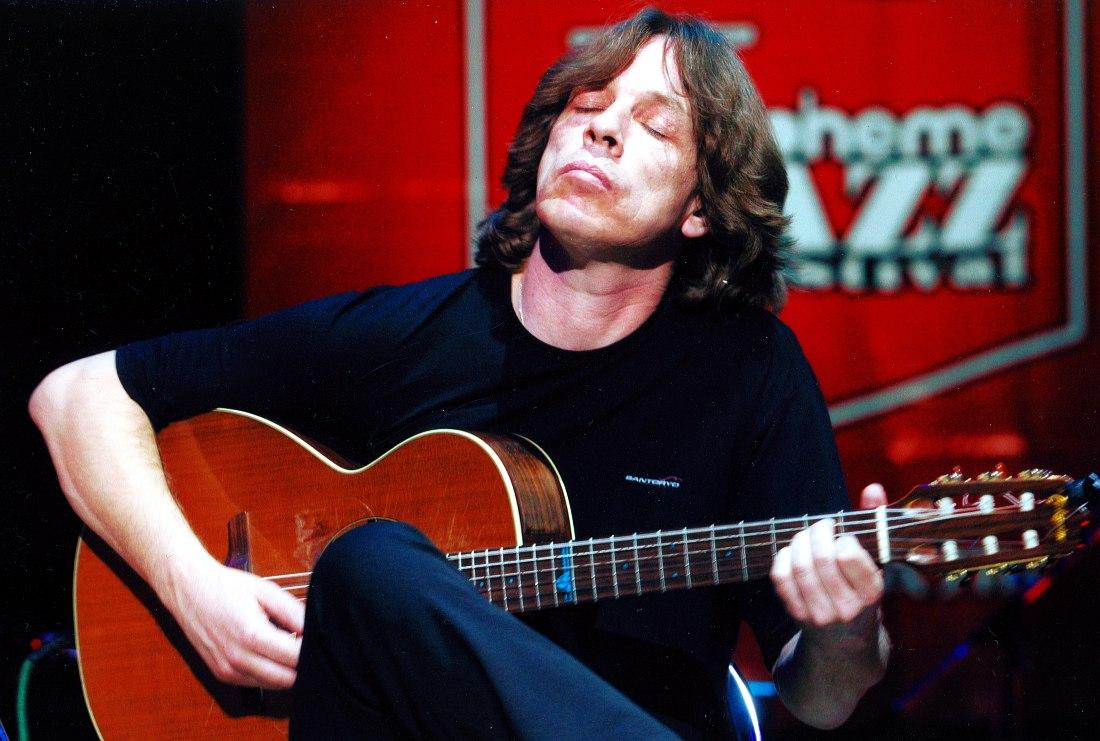 Иван Смирнов на московском фестивале Boheme Jazz, 2003
