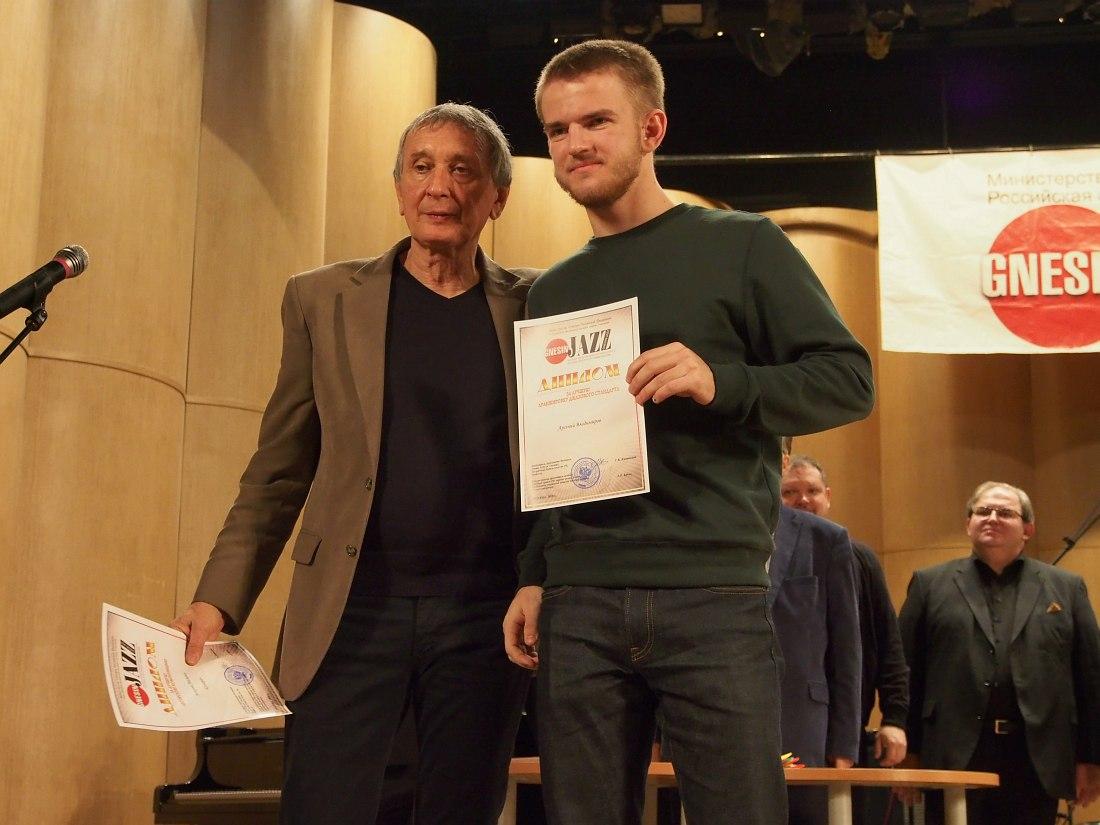 Член жюри гитарист Андрей Боднарчук (Франция) и пианист Арсений Владимиров