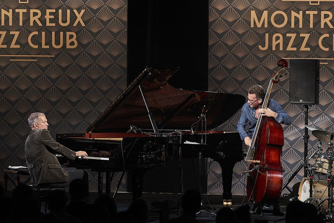 Пианист Брэд Мэлдо (Brad Mehldau) на сцене Montreux Jazz Club / House of Jazz. Photo © 2018 FFJM - Daniel Balmat
