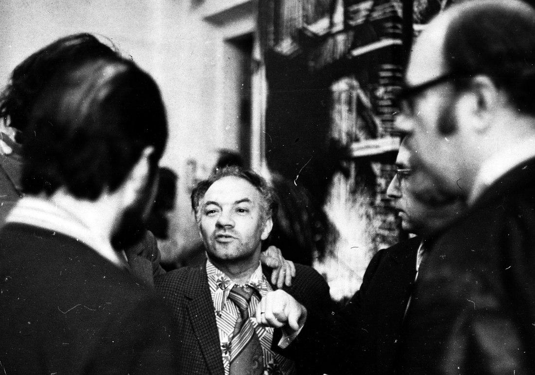 Владимир Фейертаг в Куйбышеве, 1976 (фото автора)