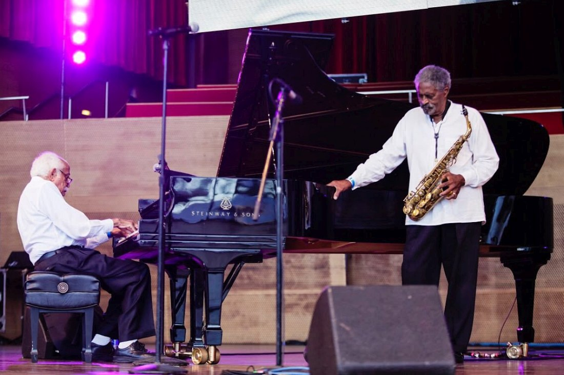 Barry Harris, Charles McPherson (photo © James Foster, официальный Twitter фестиваля)