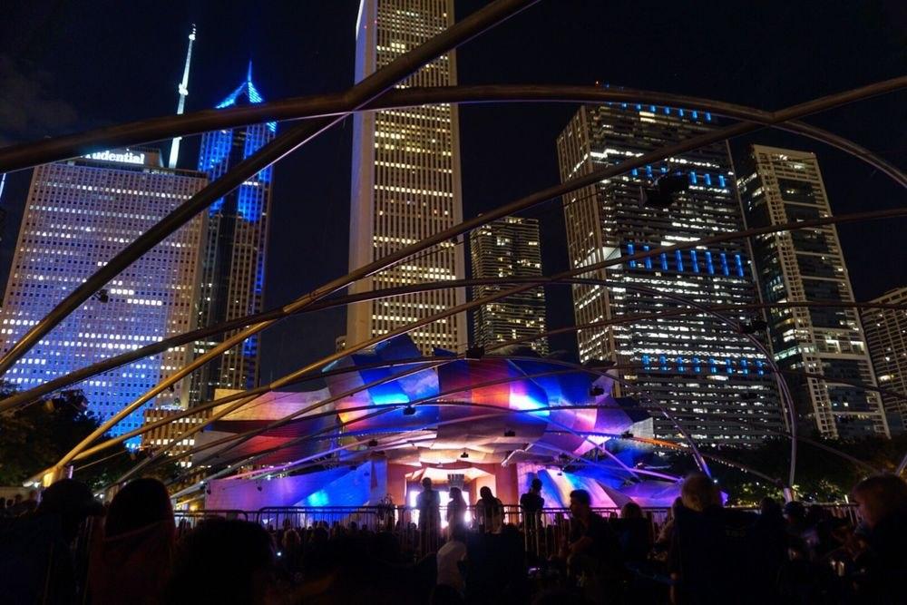 Основная сцена Чикагского джаз-фестиваля