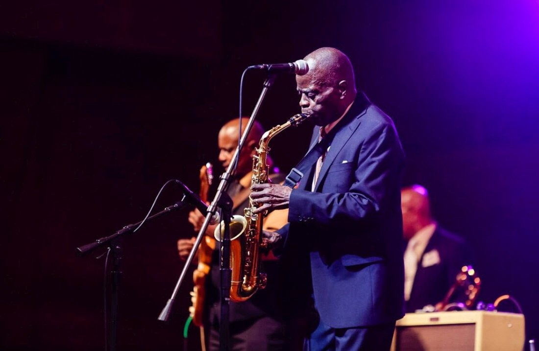 Maceo Parker (photo © James Foster, официальный Twitter фестиваля)