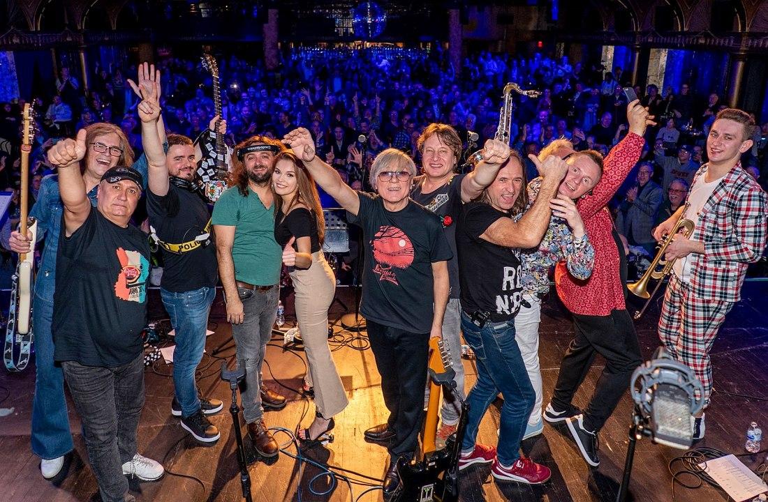 Leonid & Friends на фестивале «Блюз на веранде», Вологда, июль 2018 (фото © Кирилл Мошков, «Джаз.Ру»)