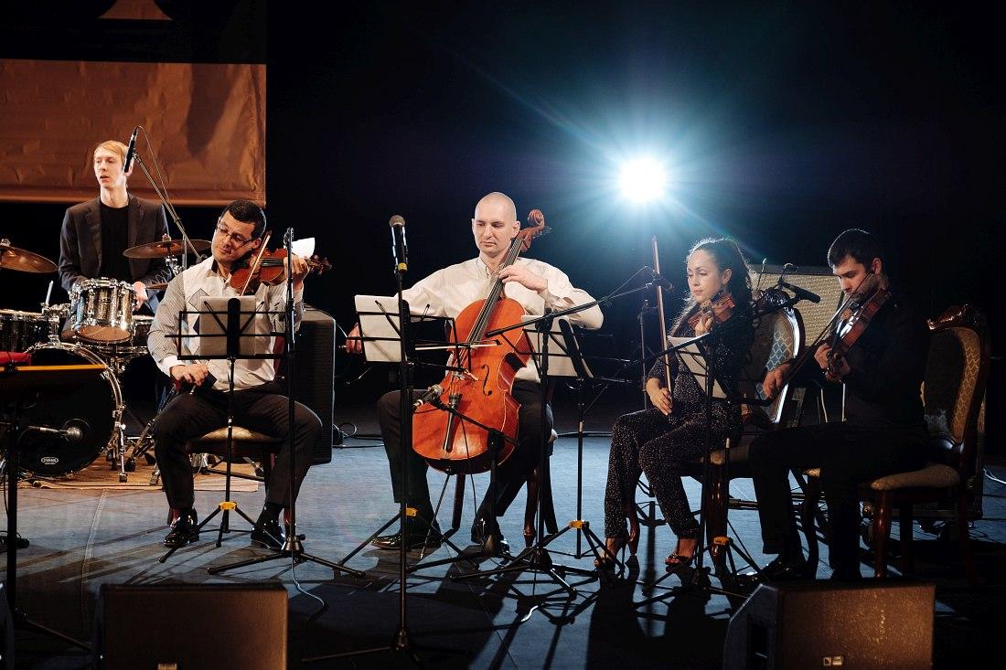 Струнный квартет симфонического оркестра Госфилармонии РТ под управлением Олега Мороза