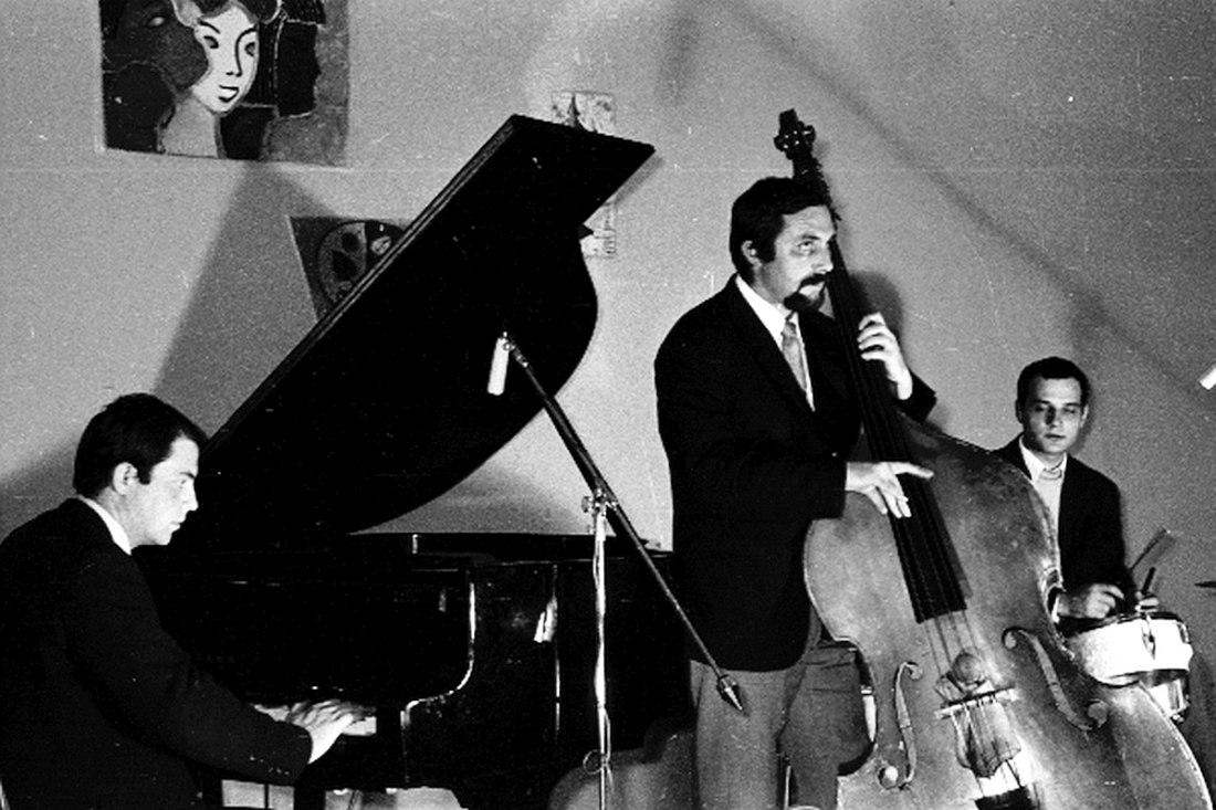 Трио Игоря Бриля, 1971 (фото © Владимир Лучин)