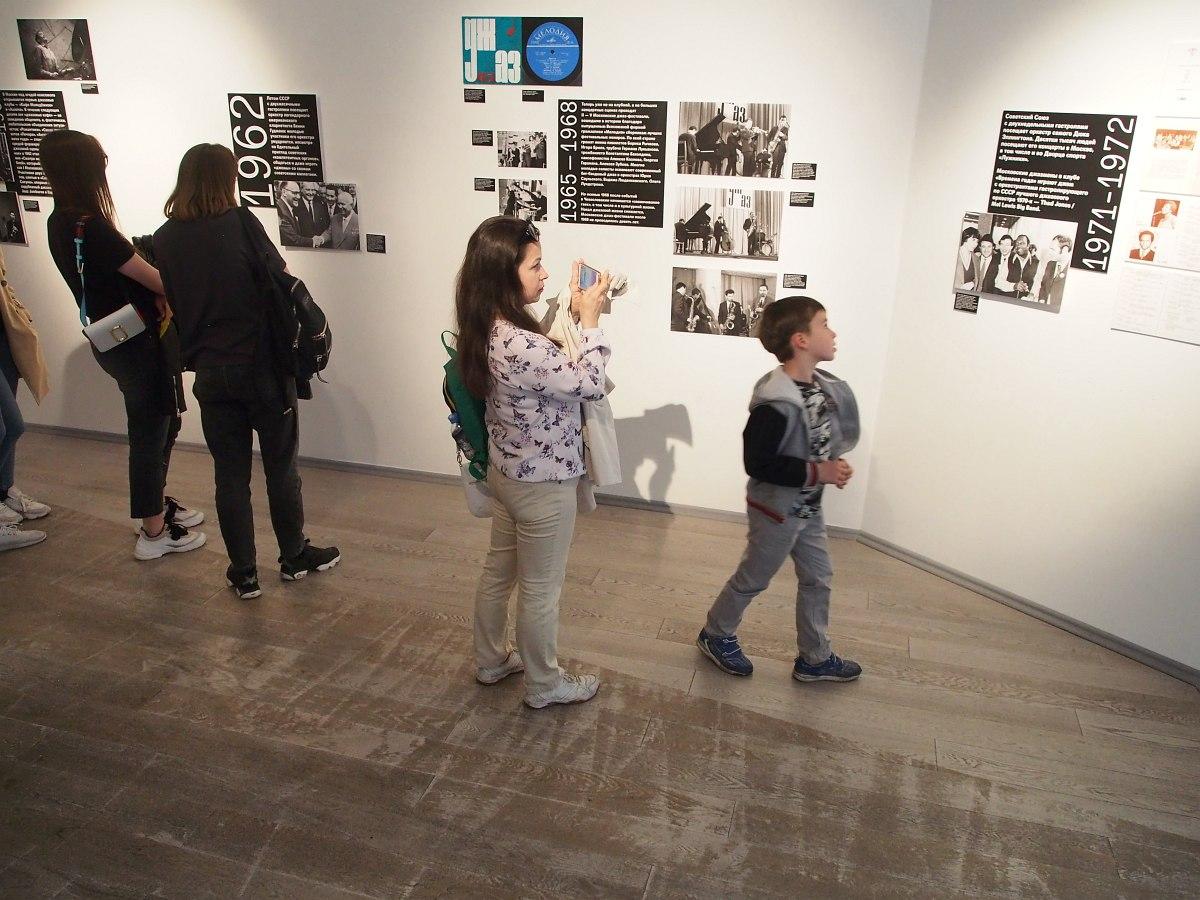 На открытии выставки 18 мая