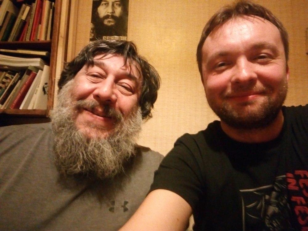 Герман Лукомников и Алексей Круглов