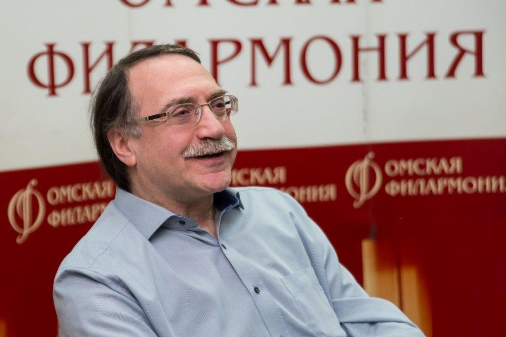 Даниил Крамер на пресс-конференции Siberian Jazz Fest