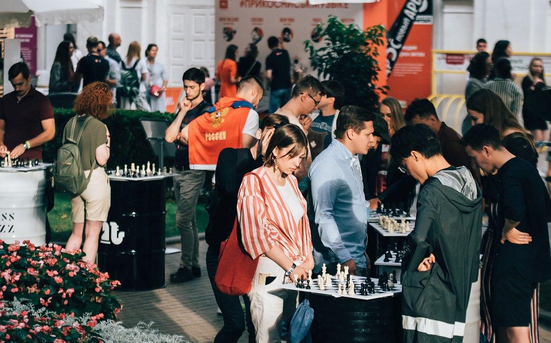 Интеллектуальные игры на фестивале Chess & Jazz