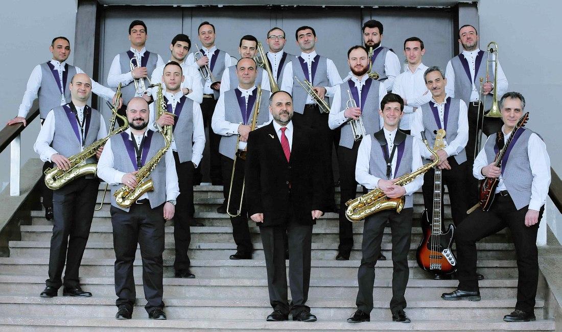 Государственный Джаз-Оркестр Армении под управлением Армена Уснунца