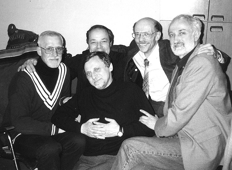 1999: Олег Черняев, Александр Эйдельман, Александр Забрин, Игорь Рыбак, Рафаэль Аваков (фото © Георгий Искендеров)