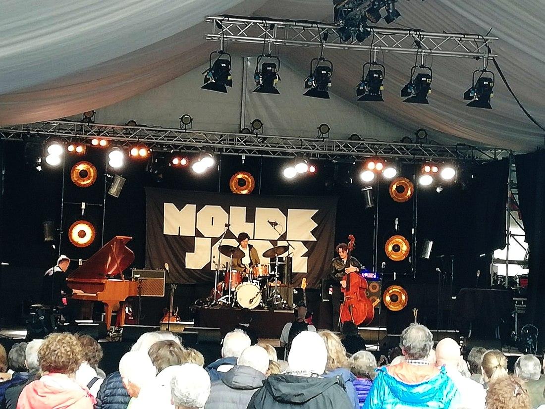 LRK Trio на сцене фестиваля Molde Jazz-2019